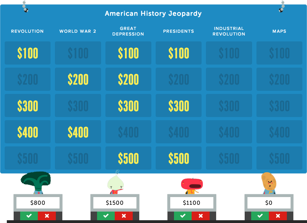 create your own jeopardy game free